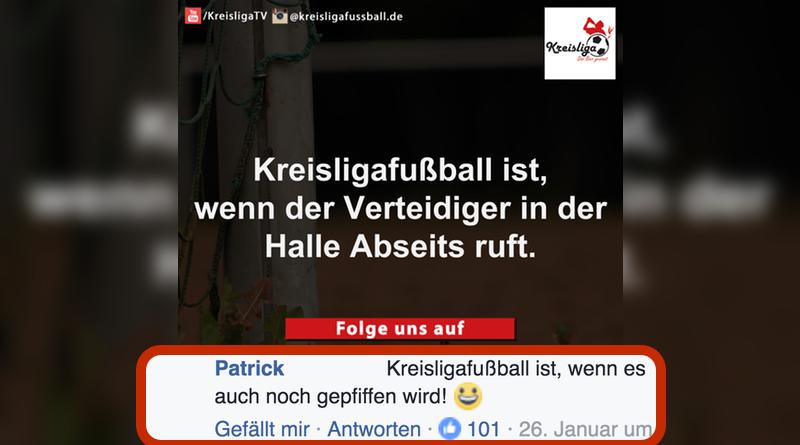 Kreisligafußball - Top Kommentar - Halle Abseits