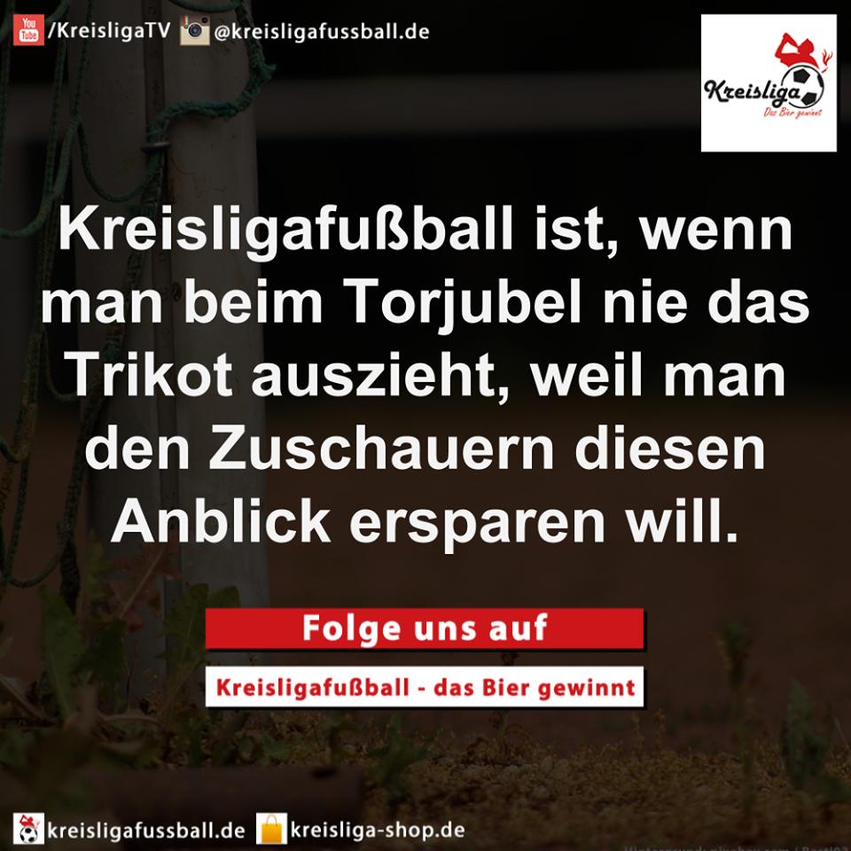 Kreisligafußball - Torjubel Bierbauch