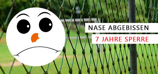 fussball-nase-abgebissen